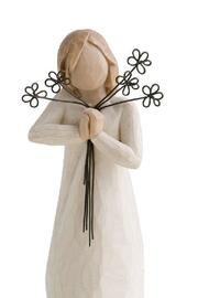 Willow Tree(r) by Susan Lordi, from DEMDACO Friendship Wood Figurine - Front cropped