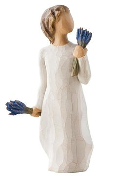 Willow Tree(r) by Susan Lordi, from DEMDACO Lavender Grace Figurine - Alternate List Image