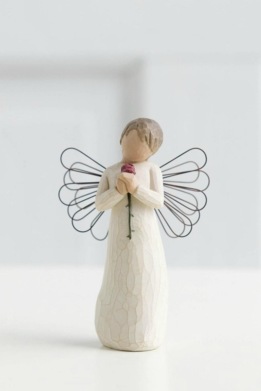 Willow Tree(r) by Susan Lordi, from DEMDACO Loving Angel Figurine - Front Full Image