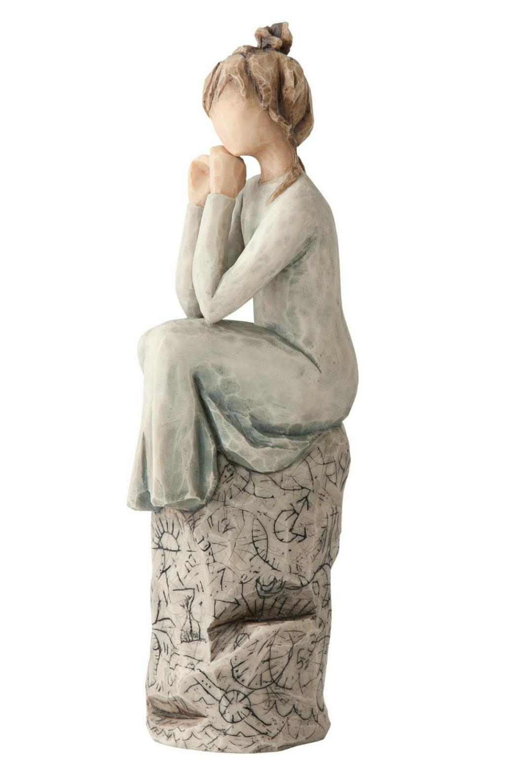 Willow Tree(r) by Susan Lordi, from DEMDACO Patience Figurine - Back Cropped Image
