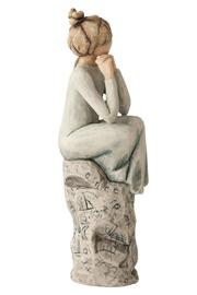 Willow Tree(r) by Susan Lordi, from DEMDACO Patience Figurine - Front full body