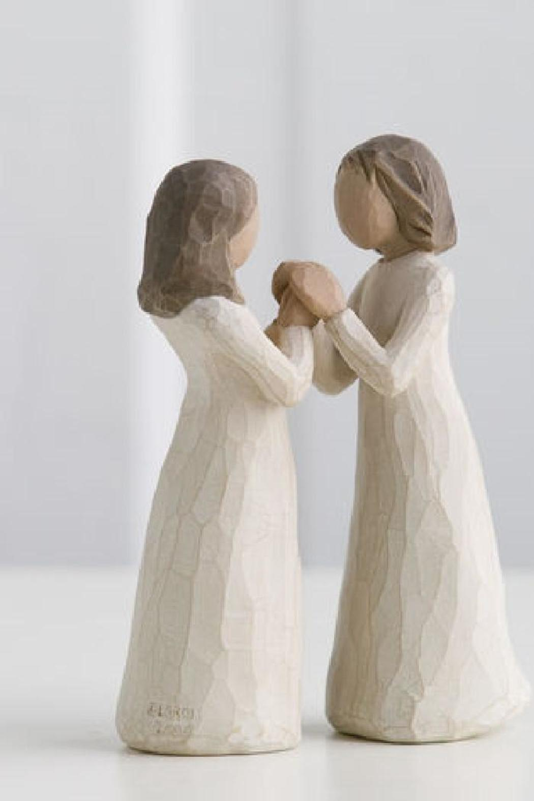 Willow Tree(r) by Susan Lordi, from DEMDACO Sisters By Heart Figurine - Front Cropped Image