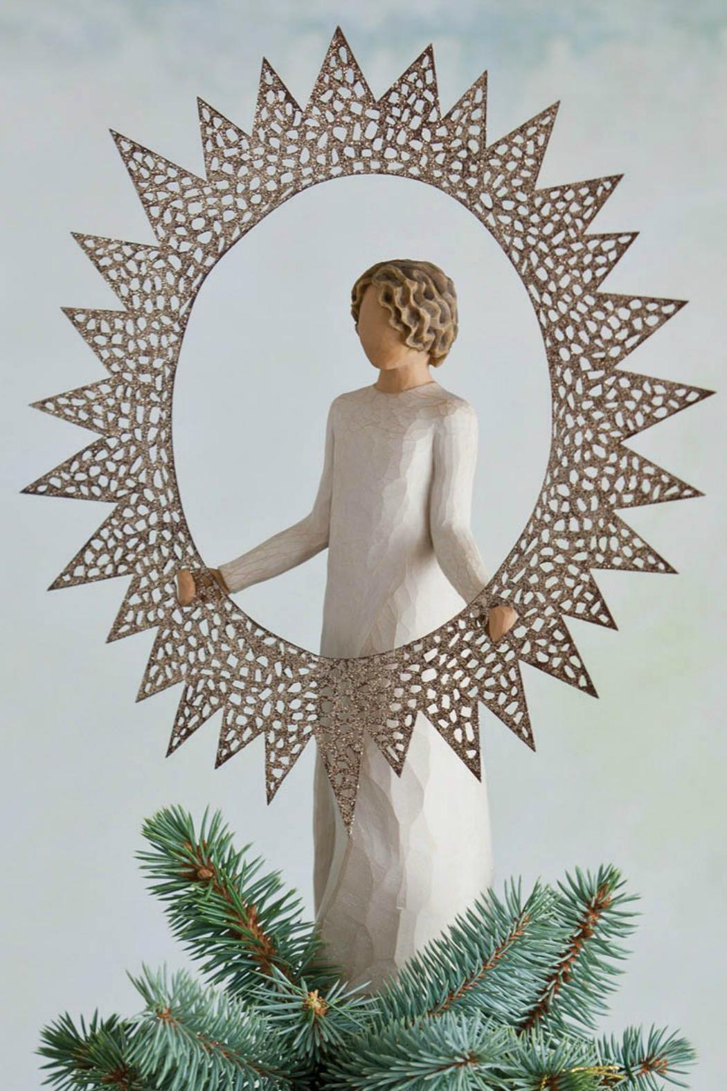 Willow Tree(r) by Susan Lordi, from DEMDACO Starlight Tree Topper - Side Cropped Image