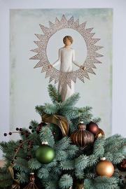 Willow Tree(r) by Susan Lordi, from DEMDACO Starlight Tree Topper - Front full body