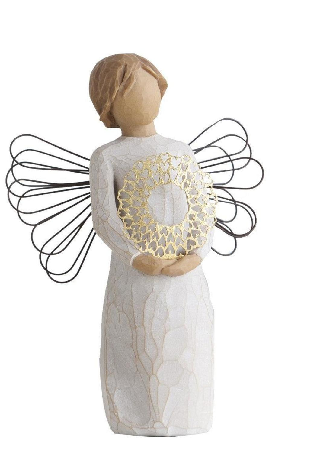 Willow Tree(r) by Susan Lordi, from DEMDACO Sweetheart Wood Figurine - Main Image