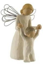 Willow Tree(r) by Susan Lordi, from DEMDACO Wilowtree Guardian Angel - Product Mini Image