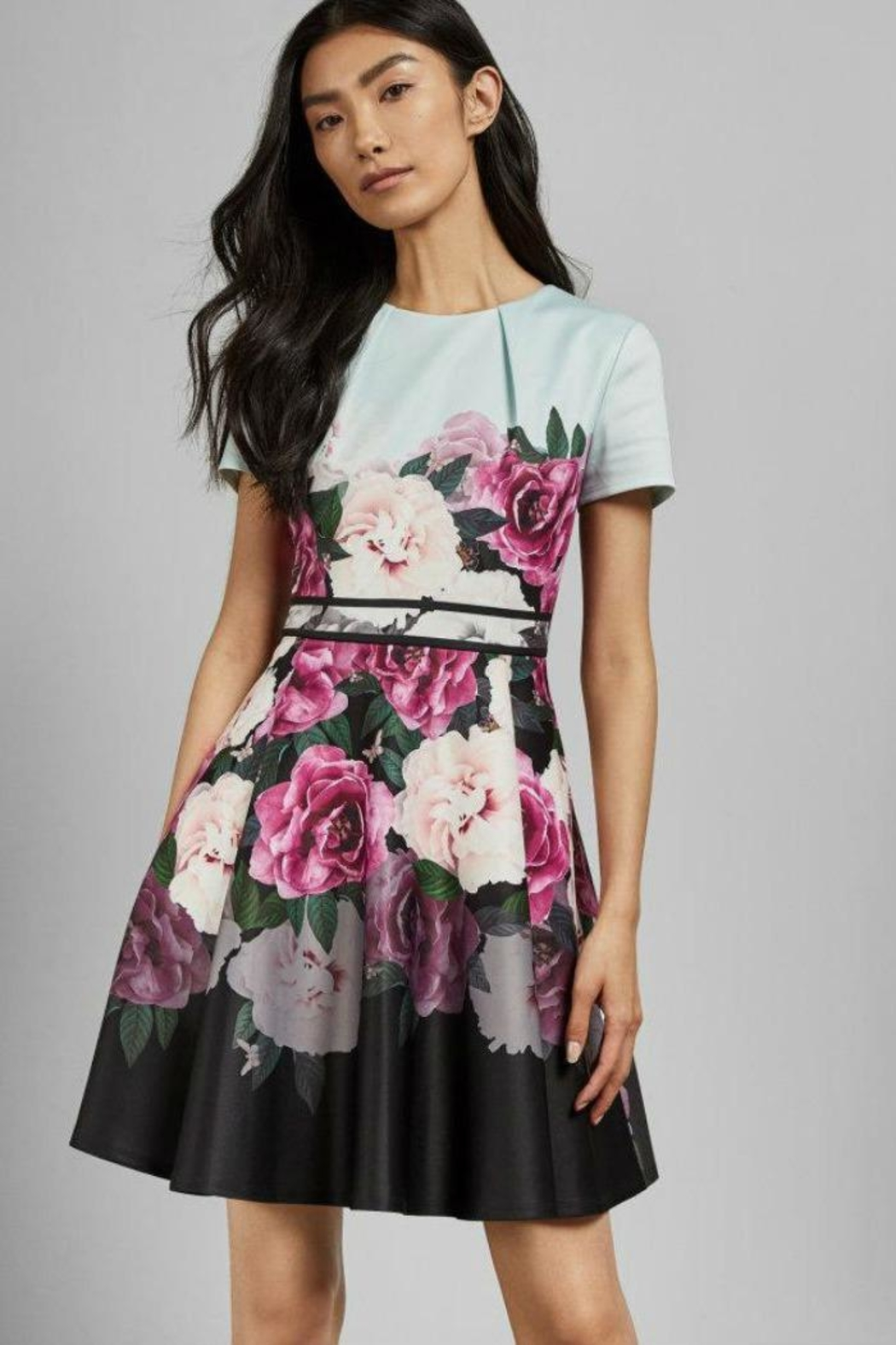 Ted Baker Wilmana Skater Dress - Front Cropped Image