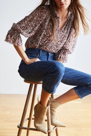 Velvet by Graham and Spencer Wilona Mauve - Front cropped