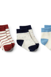 Wilson and Frenchy 3 Pack Baby Socks - Product Mini Image