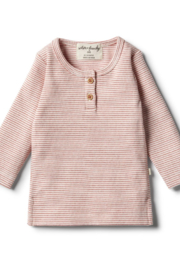 Wilson and Frenchy Henley Top - Product Mini Image