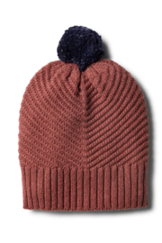 Wilson and Frenchy Knitted Chevron Hat - Product Mini Image