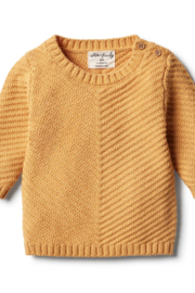 Wilson and Frenchy Knitted Chevron Jumper - Product Mini Image