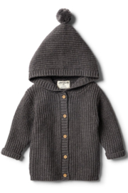 Wilson and Frenchy Rib Knitted Jacket - Product Mini Image