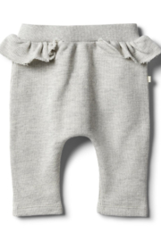 Wilson and Frenchy Ruffle Sweat Pant - Front cropped