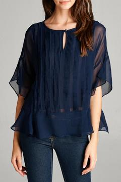 Shoptiques Product: Pleated Chiffon Top
