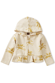 Tea Collection Wind Horse Baby  Zip Hoodie - Front cropped