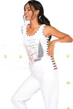 Elena Wang Wind is My Courage Tank Top - Product List Image