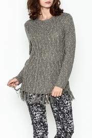 Wind River Fringe Sweater Tunic - Product Mini Image