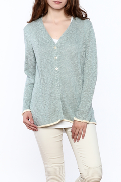 Wind River Seafoam Button Down Cardigan - Product List Image