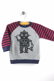 Hootkid Wind Up Sweatshirt - Front cropped