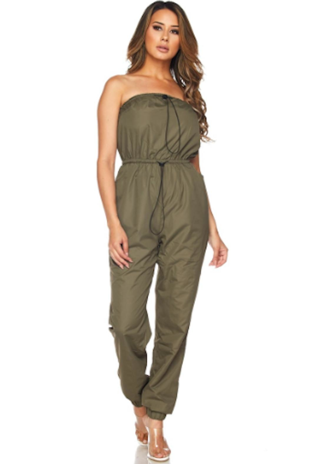 TIMELESS Windbreaker Jumpsuit - Front Full Image