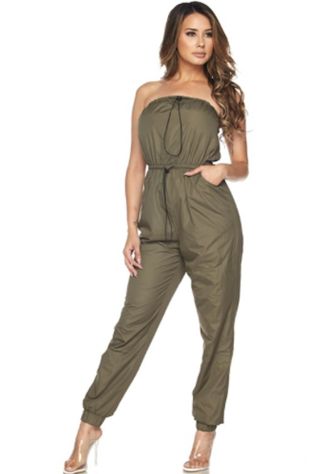 TIMELESS Windbreaker Jumpsuit - Front Cropped Image