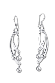 Diana Windchimes Earrings - Front cropped