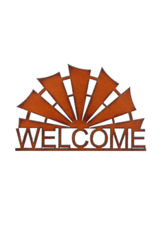 Rustic Ironwerks Windmill Welcome Sign - Alternate List Image