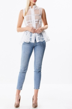 Shoptiques Product: Window Pane Blouse