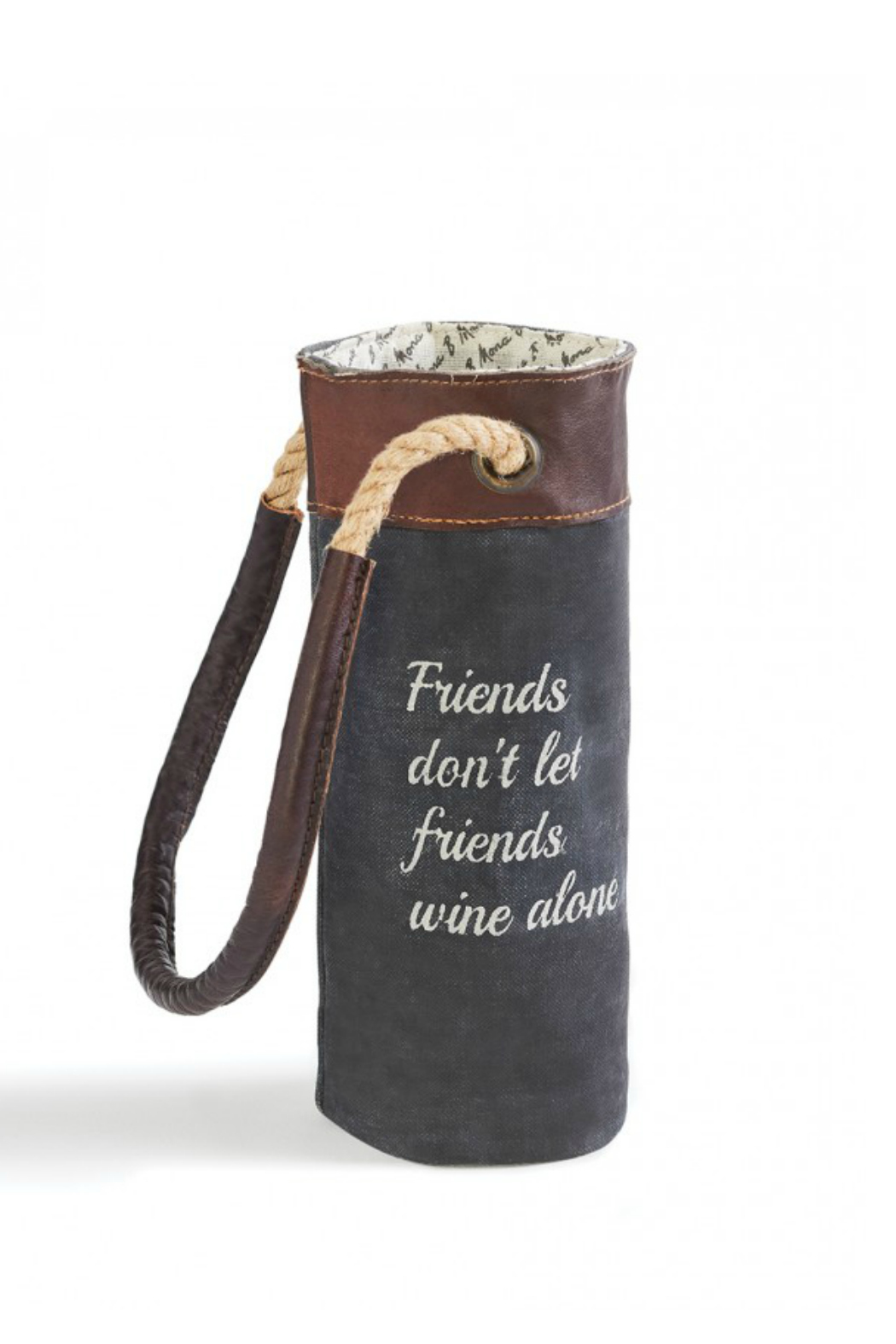 Mona B Wine Bag - Front Cropped Image