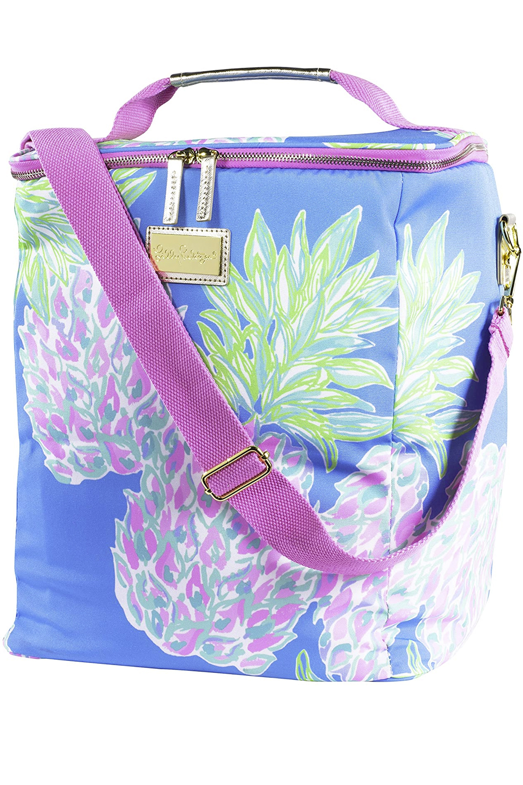 Lilly Pulitzer Wine Carrier - Main Image