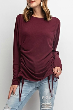 Shoptiques Product: Wine Cinched Tee