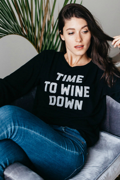 social sunday Wine Down Pullover - Product List Image