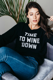 social sunday Wine Down Pullover - Product Mini Image