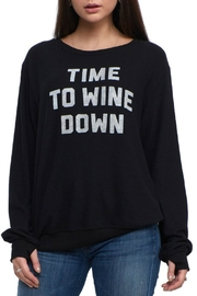 Social decay Wine Down Pullover - Product Mini Image