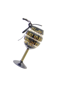 Gift Craft Wine Glass Ornament - Product List Image