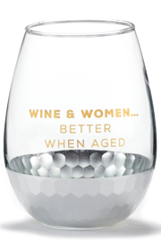 Giftcraft Inc.  Wine glasses - Front cropped