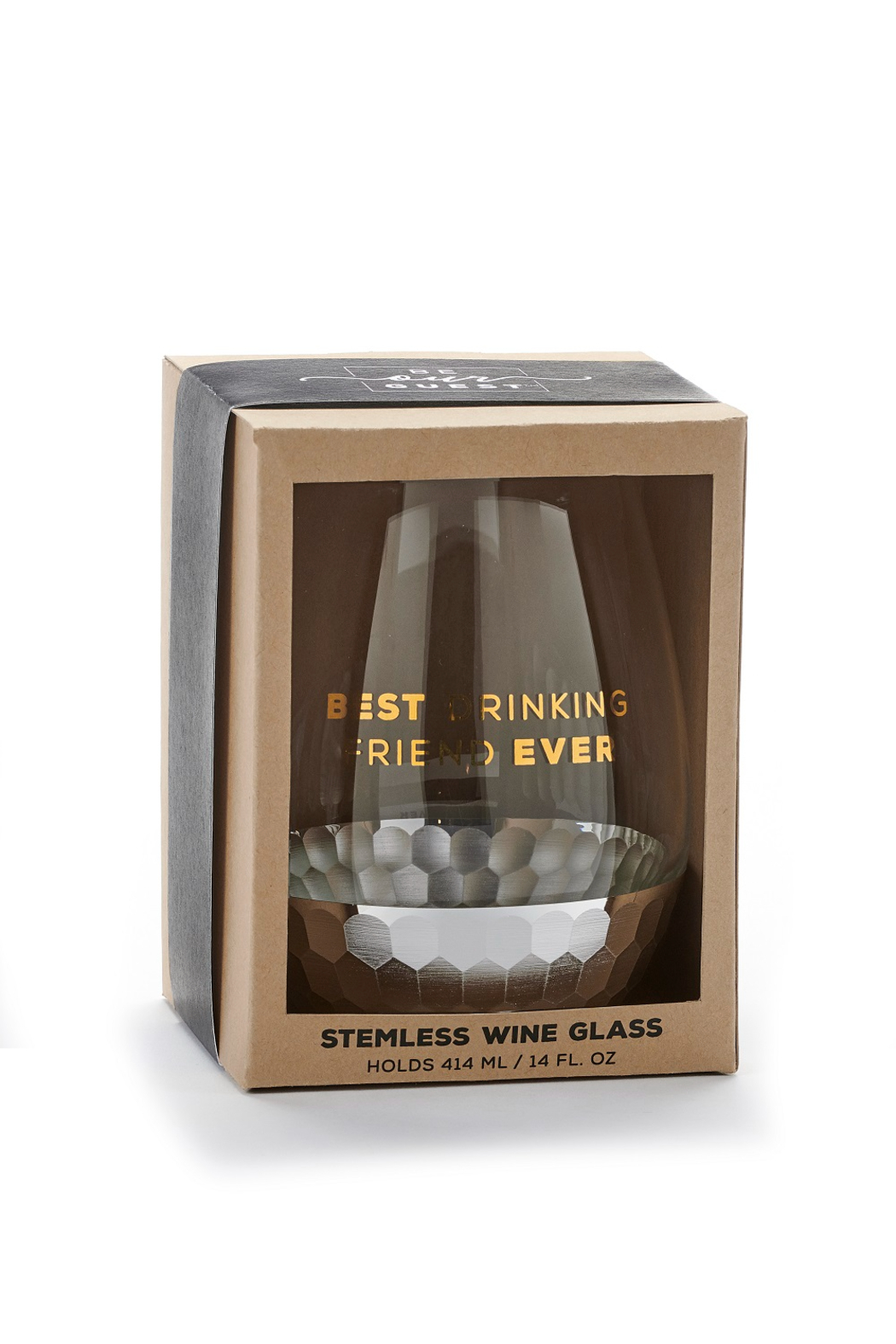 Giftcraft Inc.  Wine glasses - Front Full Image