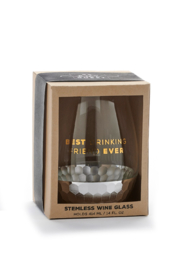 Giftcraft Inc.  Wine glasses - Front full body