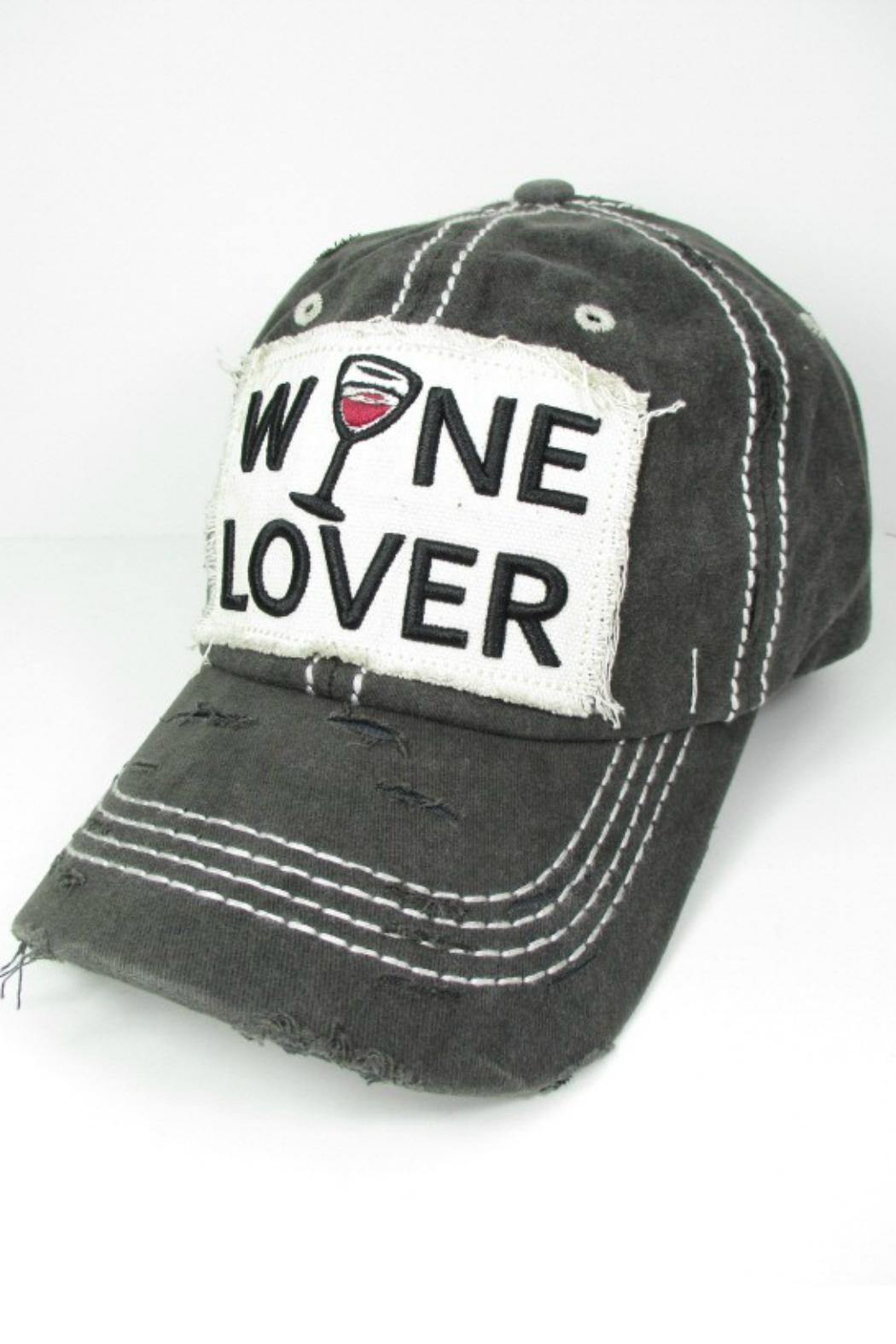 Imagine That Wine Lover Hat - Front Full Image