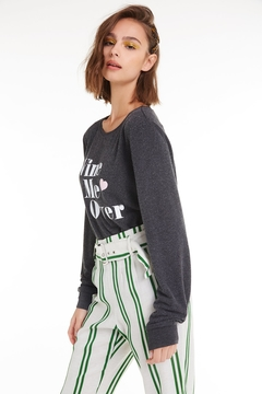 Wildfox Wine Me Over Baggy Beach Jumper - Product List Image