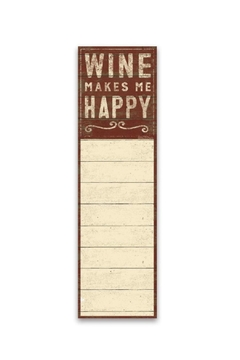 Shoptiques Product: Wine Notepad