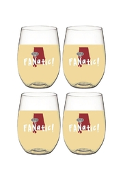 Wine-Oh Alabama  Wine Glasses - Front cropped