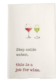 Mud Pie Wine Towels - Product Mini Image