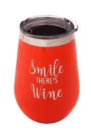 Evergreen Wine Tumbler - Front cropped