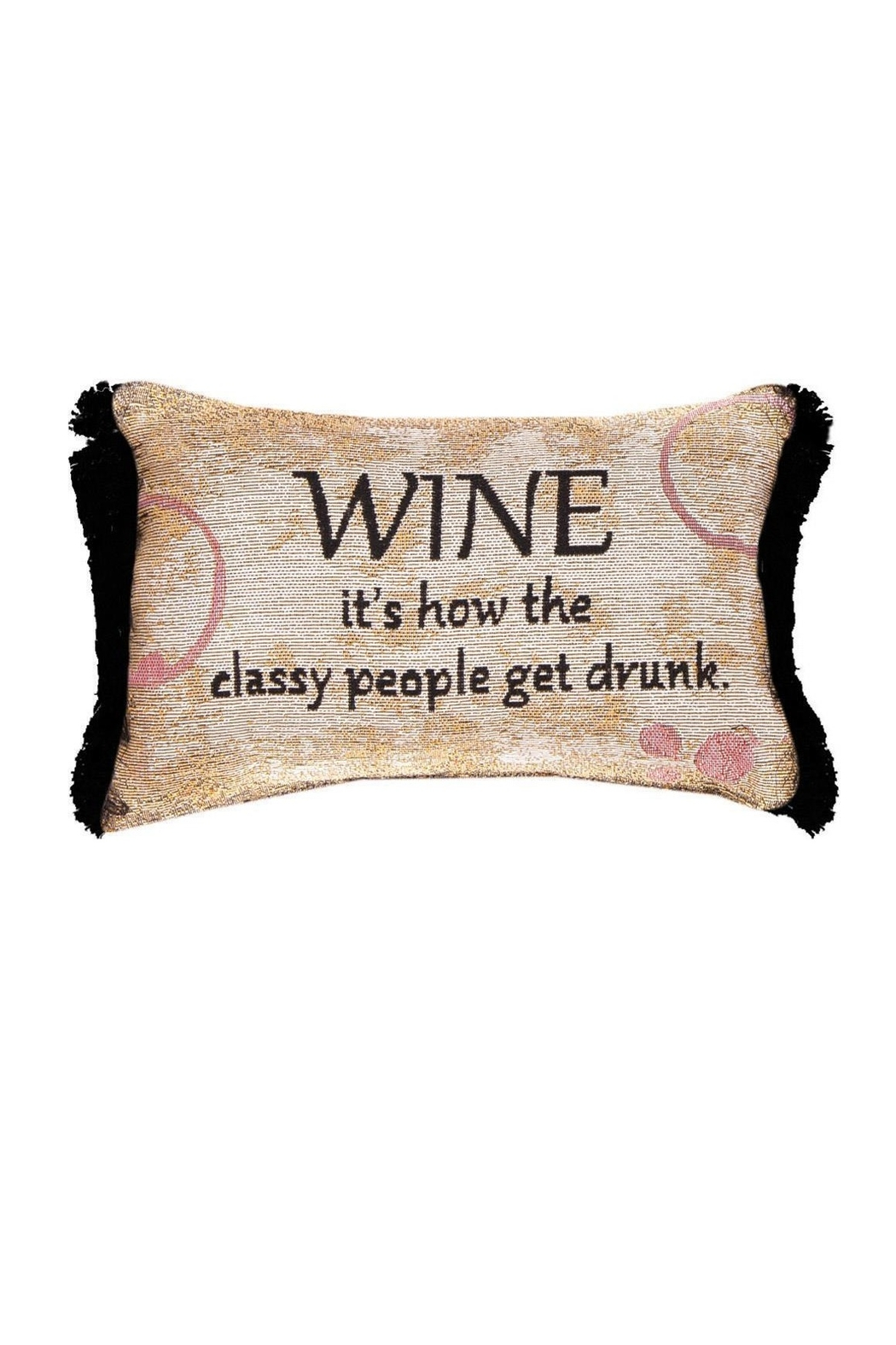MWW Wine Word Pillow - Main Image