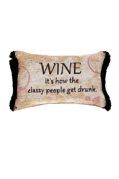 MWW Wine Word Pillow - Product List Image