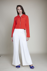 Patrizia Luca Wing Collar Jacket - Front cropped
