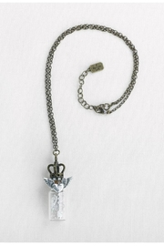 A Gilded Life Wing/heart Bottle Necklace - Product Mini Image