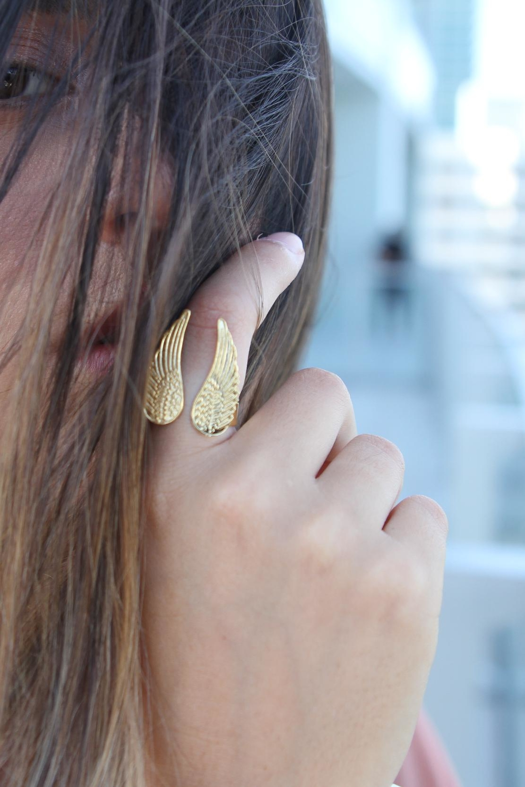 Mayes Accesorios Wing Ring - Front Full Image